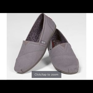 Bobs  peace and love  plush slip ons